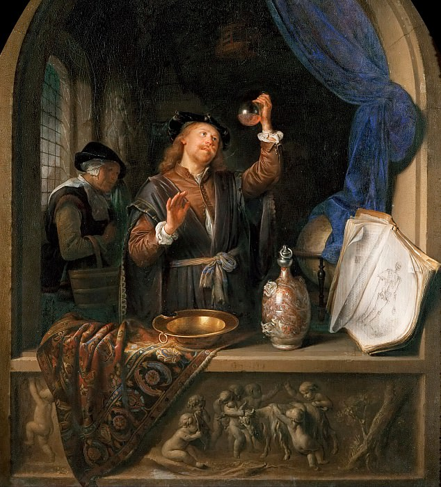 Gerrit Dou -- The Physician. Kunsthistorisches Museum