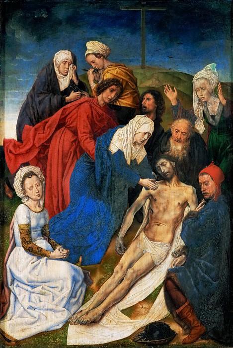 Hugo van der Goes -- Lamentation. Kunsthistorisches Museum