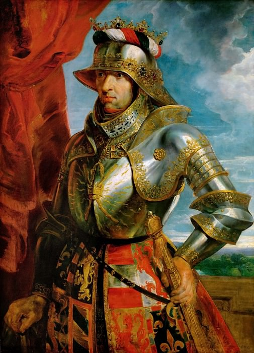 Peter Paul Rubens -- Maximilian I, Holy Roman Emperor. Kunsthistorisches Museum