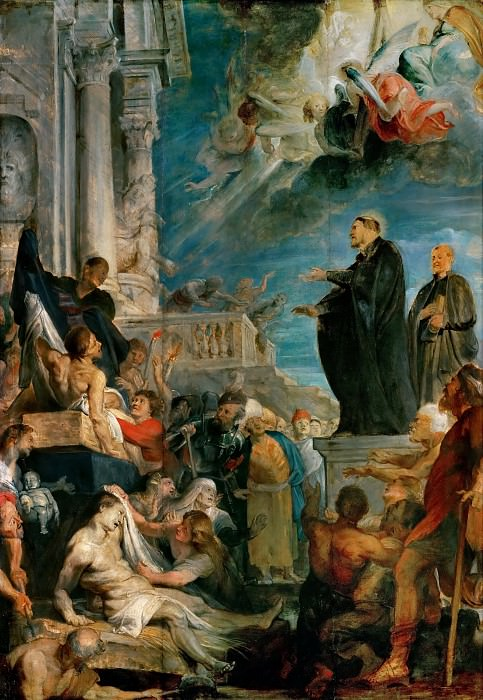 Peter Paul Rubens -- Miracle of Saint Francis Xavier. Kunsthistorisches Museum