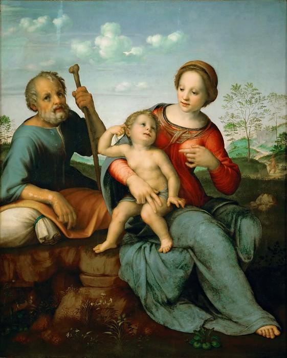 Франчабиджо - Св семейство. Музей истории искусств