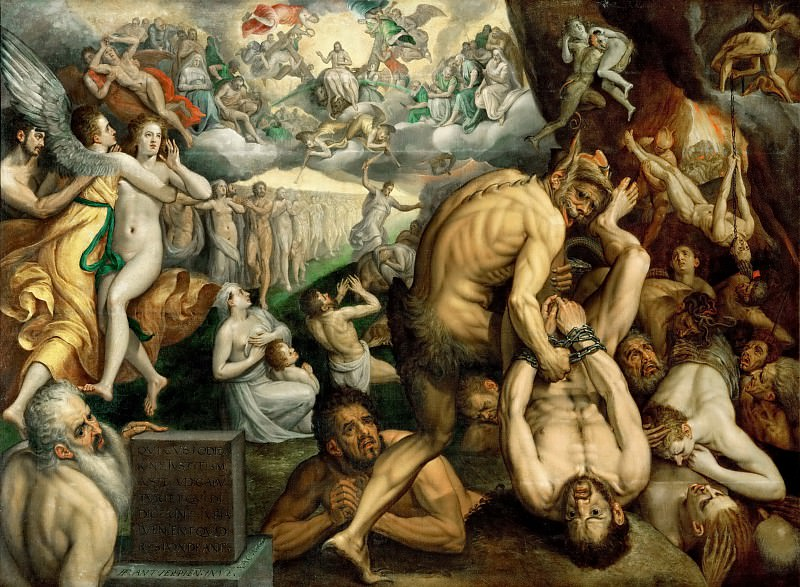 Frans Floris the elder -- Last Judgment. Kunsthistorisches Museum