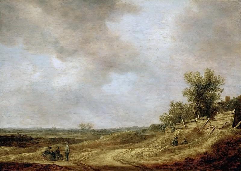 Jan van Goyen (1596-1656) -- Flat Landscape. Kunsthistorisches Museum