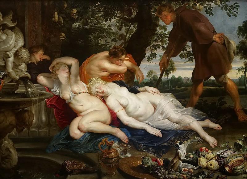 Cimon und Efigenia, 1617. Peter Paul Rubens