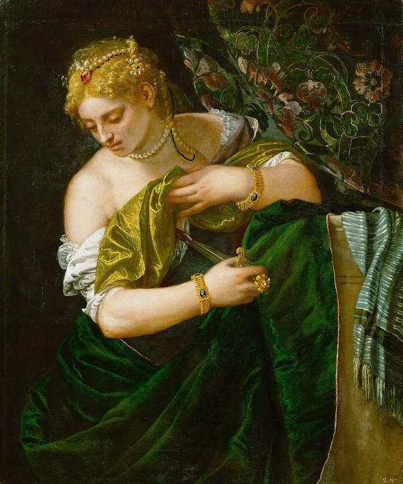 Paolo Veronese -- Lucretia. Kunsthistorisches Museum