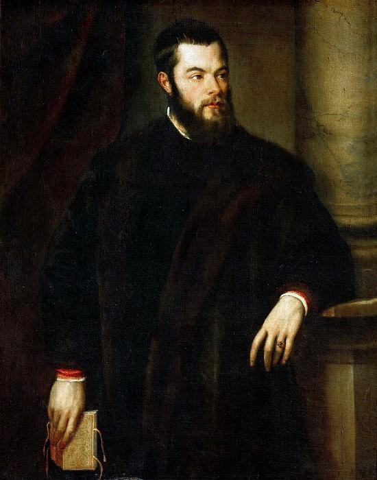 Titian -- Benedetto Varchi. Kunsthistorisches Museum