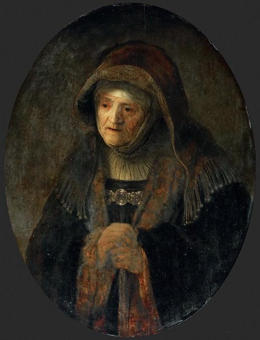 Мать художника (последователь). Рембрандт Харменс ван Рейн