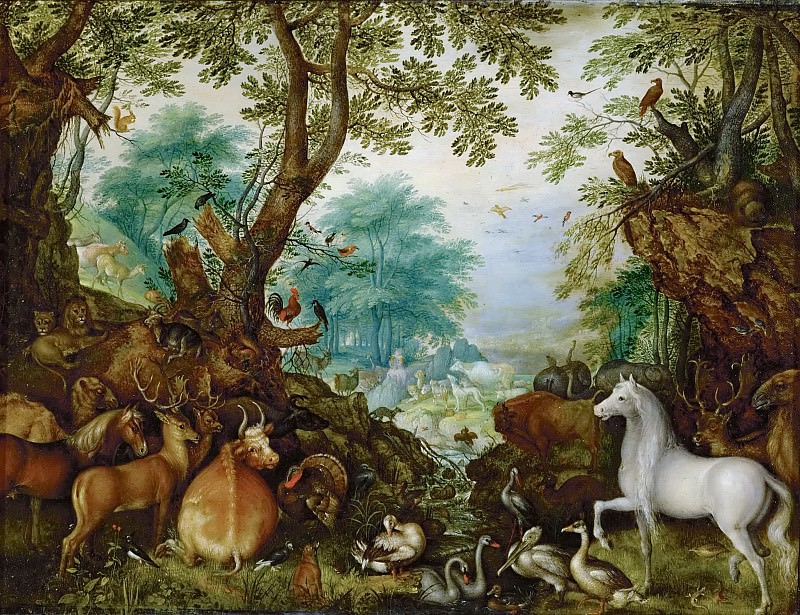 Roelandt Savery (1576-1639) -- Orpheus Among the Animals. Kunsthistorisches Museum