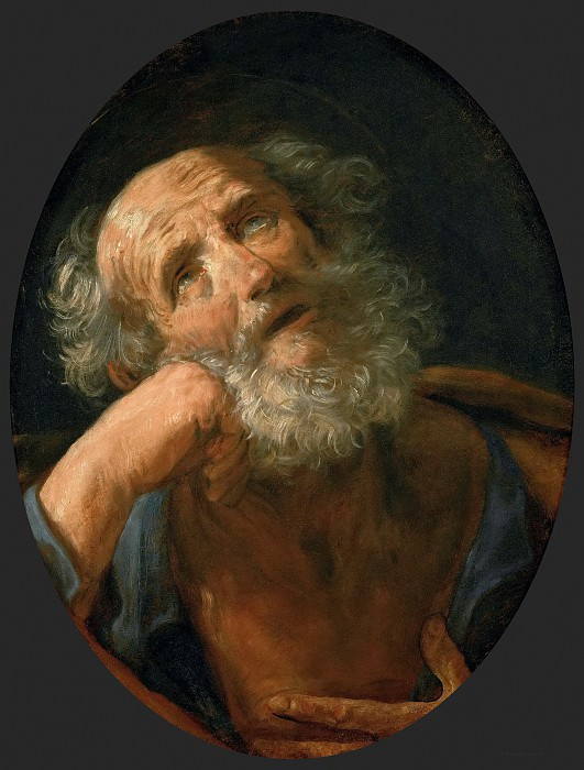 Penitent Saint Peter. Guido Reni