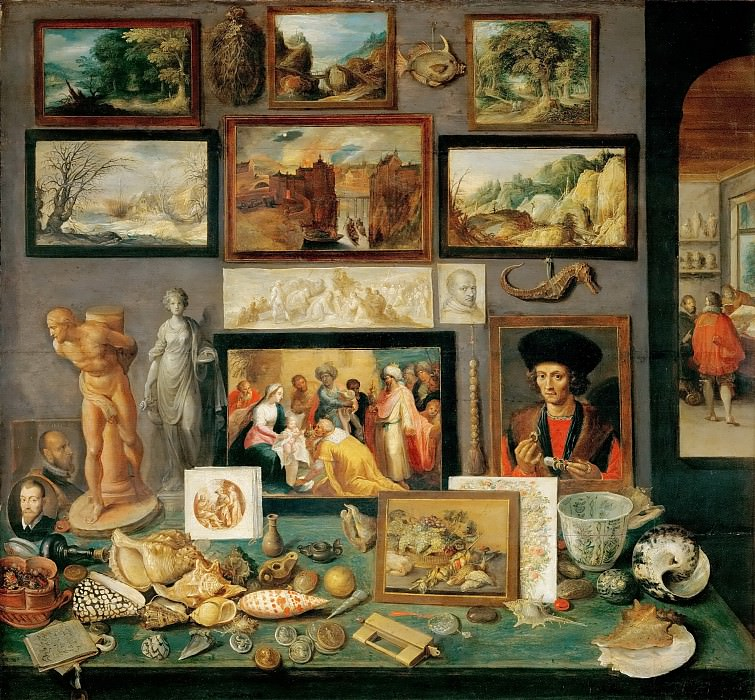 Frans Francken II -- An Art and Curio Collection. Kunsthistorisches Museum
