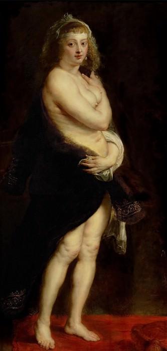 The Fur Coat - ок 1630 - 1640. Peter Paul Rubens