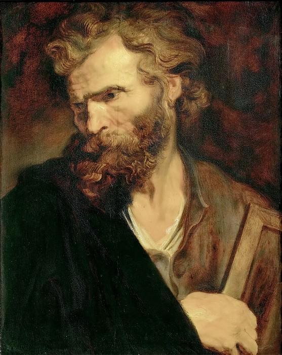 Anthony van Dyck -- Apostle Judas Thaddaeus (Jude). Kunsthistorisches Museum