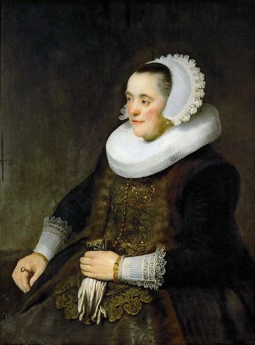 Portrait of a Woman (attr). Rembrandt Harmenszoon Van Rijn