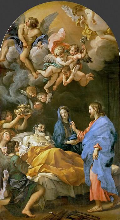 Carlo Maratti -- Death of Saint Joseph. Kunsthistorisches Museum