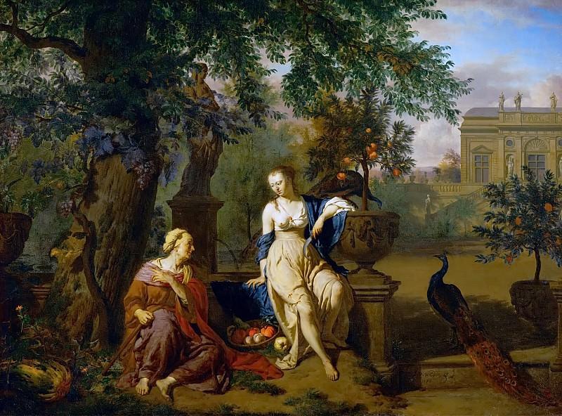 Adriaen van de Velde -- Vertumnus and Pomona. Kunsthistorisches Museum
