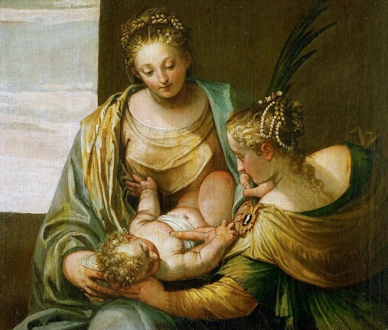 Веронезе - Мистическое обручение св Екатерины. Музей истории искусств