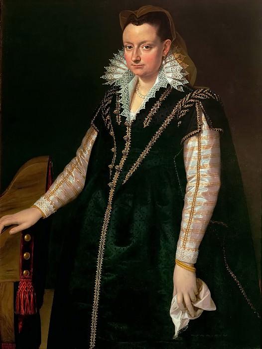 Agnolo Bronzino (1503-1572) -- Eleonora of Toledo (1522-1562), Wife of Cosimo I de' Medici. Kunsthistorisches Museum