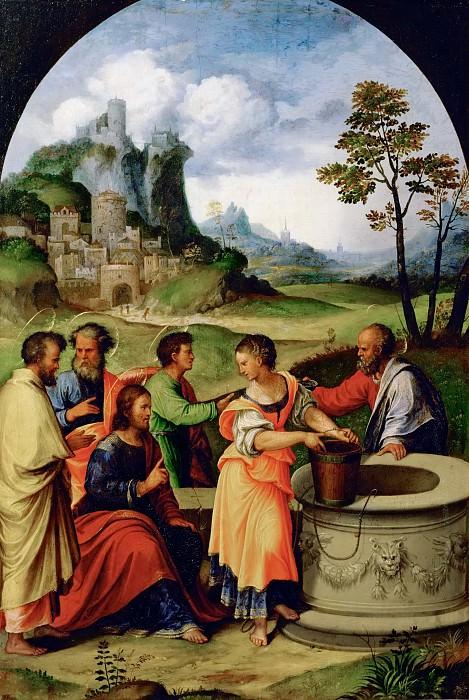 Лодовико Маццолино - Христос и самаритянка у колодца. Музей истории искусств