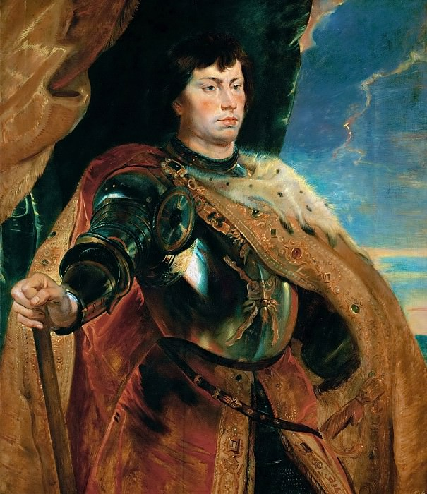Charles the Bold, duke of Burgundy - 1618. Peter Paul Rubens