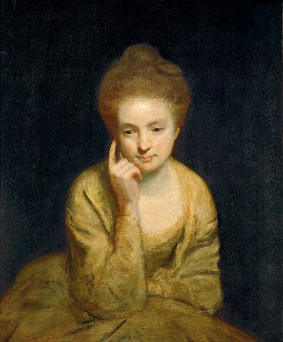 Joshua Reynolds (1723-1792) -- Portrait of a Young Lady. Kunsthistorisches Museum