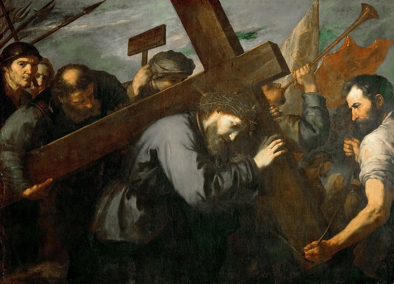 Jusepe de Ribera -- Christ Carrying the Cross. Kunsthistorisches Museum