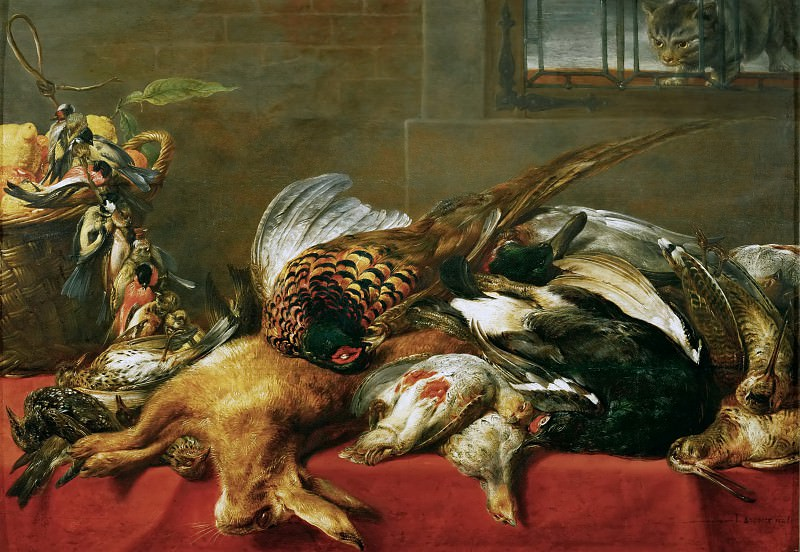 Frans Snyders -- Hunting Still-life. Kunsthistorisches Museum