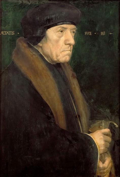 Ганс Гольбейн II - Портрет Джона Чемберса. Музей истории искусств