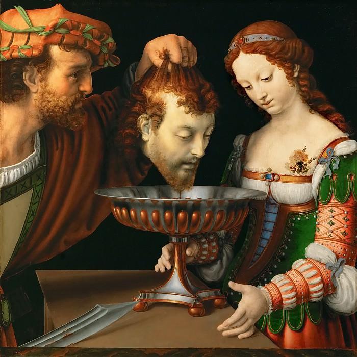 Андреа Соларио - Соломея с головой Иоанна Крестителя. Музей истории искусств