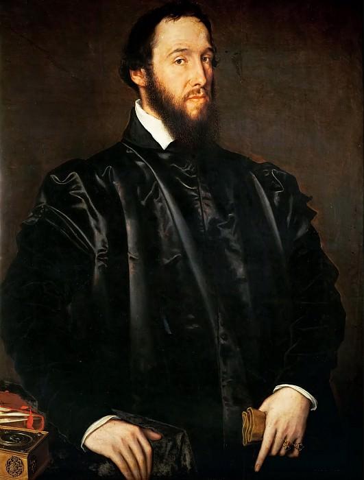 Антонис Мор - Портрет Антуана Перрено де Гранвелля. Музей истории искусств