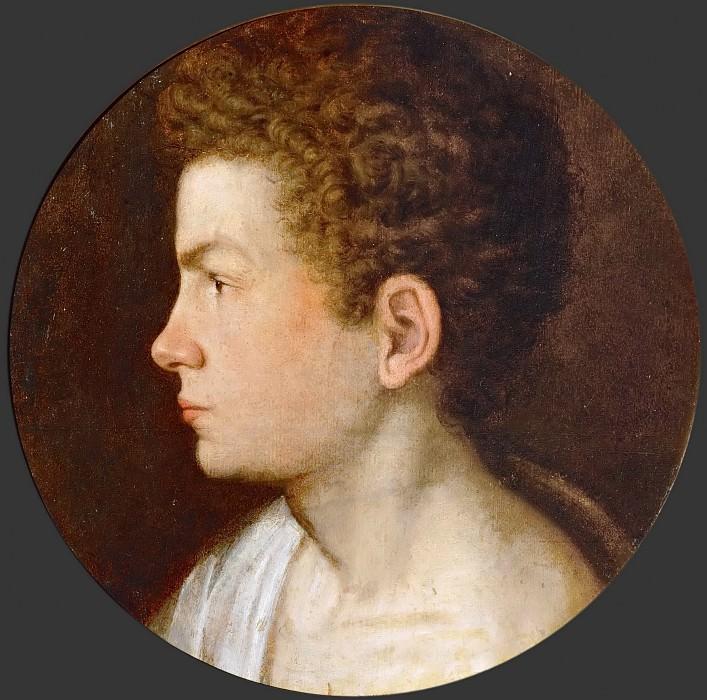 Giovanni Paolo Lomazzo -- Self-portrait. Kunsthistorisches Museum
