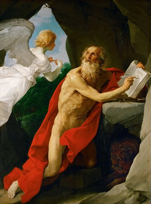 Гвидо Рени - Св Иероним. Музей истории искусств