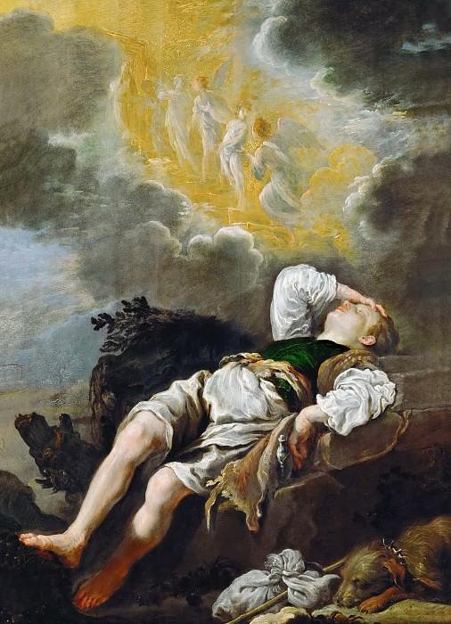 Domenico Fetti -- Jacob's Dream. Kunsthistorisches Museum