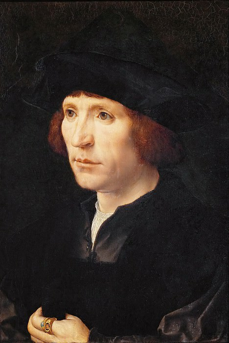 Jan Gossaert (c. 1478-1532) -- Portrait of a Man. Kunsthistorisches Museum