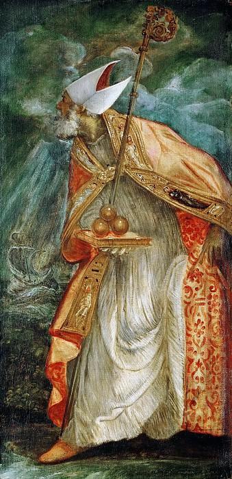 Jacopo Tintoretto -- Saint Nicolas of Bari. Kunsthistorisches Museum