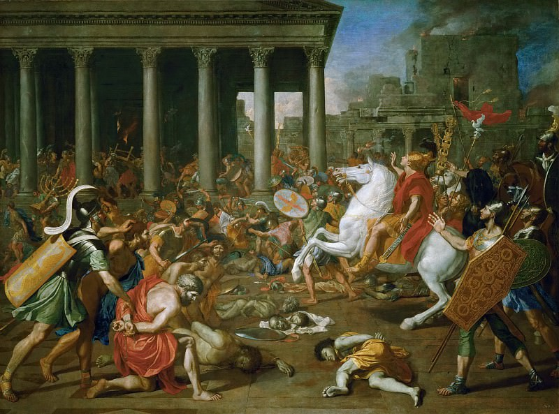 Destruction of the Temple of Jerusalem. Nicolas Poussin