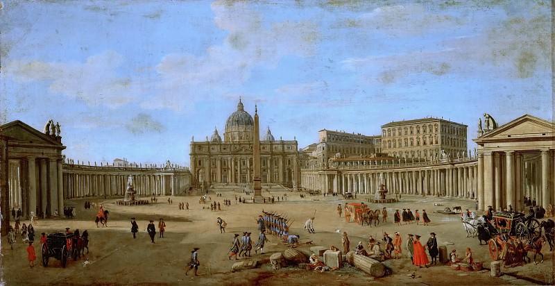Каспар ван Виттель - Базилика св Петра в Риме. Музей истории искусств