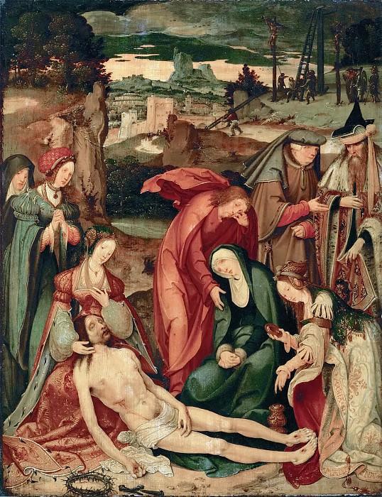 Master of the Vienna Lamentation -- Lamentation. Kunsthistorisches Museum