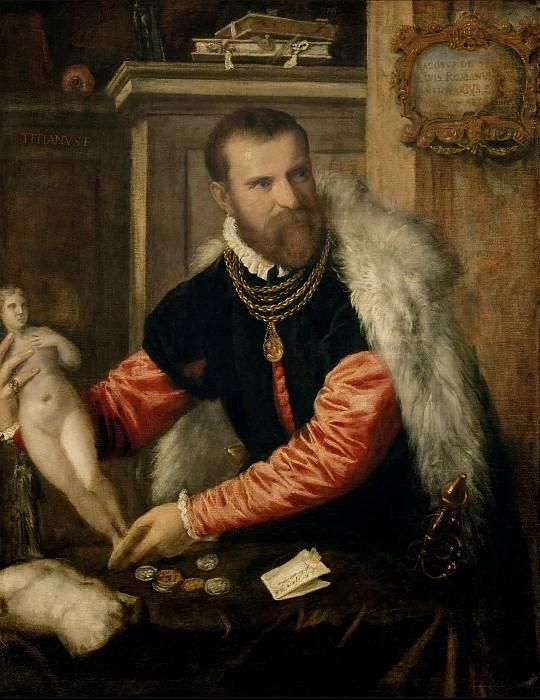 Titian -- Jacopo Strada. Kunsthistorisches Museum