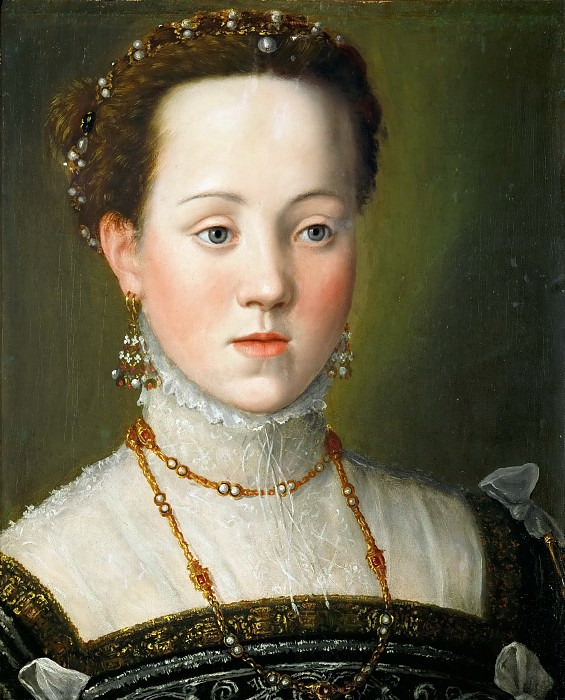 Эрцгерцогиня Анна Австрийская, дочь императора Максимилиана II. Джузеппе Арчимбольдо