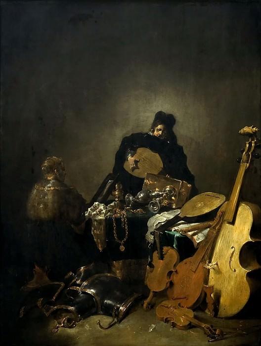 Leonaert Bramer -- Vanitas. Kunsthistorisches Museum
