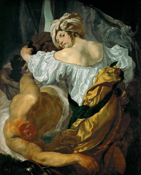 Johann Liss -- Judith with the head of Holofernes. Kunsthistorisches Museum