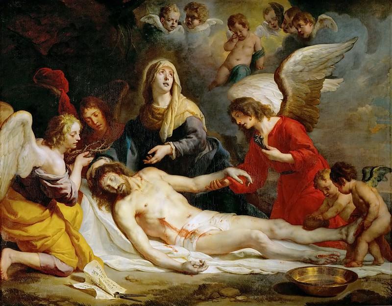 Gaspard de Crayer -- Lamentation. Kunsthistorisches Museum