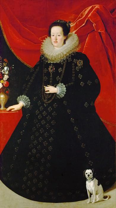 Justus Suttermans -- Eleonora Gonzaga dressed in black. Kunsthistorisches Museum