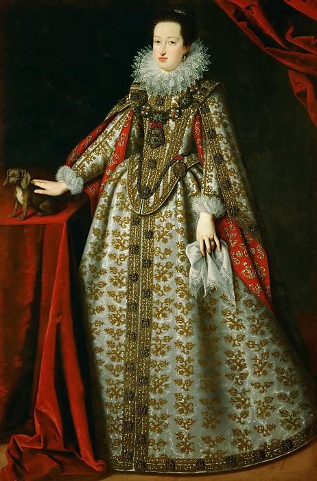 Justus Suttermans -- Eleonora Gonzaga in her wedding dress. Kunsthistorisches Museum