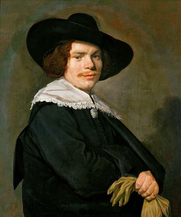 Frans Hals (c. 1581-1666) -- Portrait of a Young Man. Kunsthistorisches Museum