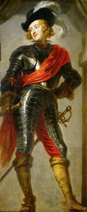 Jan van den Hoecke (1611-1651) -- Cardinal-Infant Ferdinand (1609-1641) as Victor of the Battle of Nördlingen. Kunsthistorisches Museum