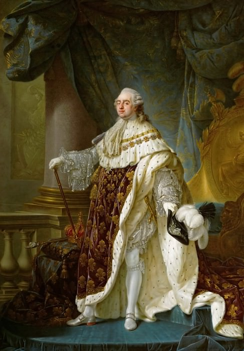 Antoine-Franзois Callet (1741-1823) -- Louis XVI, King of France (1754-1793). Kunsthistorisches Museum