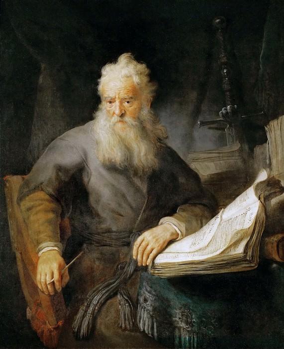 Рембрандт - Апостол Павел. Музей истории искусств