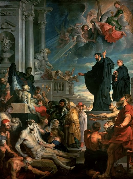 Miracle of Saint Francis Xavier. Peter Paul Rubens