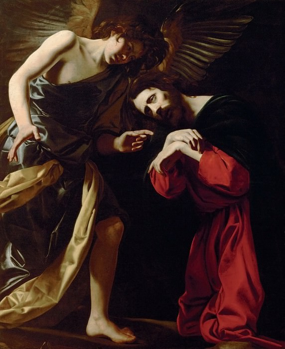 Giovanni Battista Caracciolo, called Battistello (1578-1635) -- Christ on the Mount of Olives (Christ's Fear of Death). Kunsthistorisches Museum
